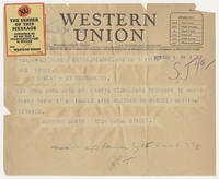 Herndon Smith to Mrs. Force, Dec 1, 1927, 1:22 PM