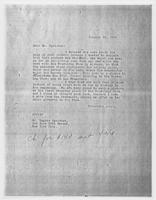 JRF to Mr. Eugene Speicher, January 23, 1928