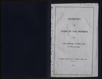 Exhibition of work of the members of the Whitney Studio Club, 1920