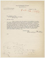 Duncan Phillips to Mrs. Juliana R. Force, November 17, 1927