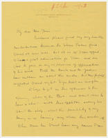 Beulah Stevenson to Mrs. Force, 28 November 1927