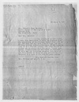 JRF to Mrs. Cornelia Sage Quintan [sic], November 3, 1927