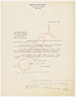 Copy [of] R.D. Sears, Sales Manager, American Letter Company, to Miss Ethel Fusfeld, October 15, 1927