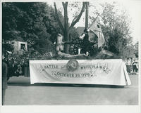 Battle of White Plains float from 1933 parade
