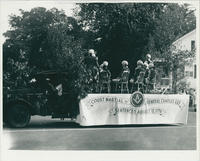 Court Martial of General Charles Lee float in 1933 parade