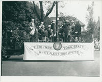 Birth of New York State Float in 1933 Parade