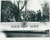 Qua-Rop-Pas The White Marshes Float in 1933 Parade