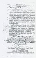 Employment Contract for Josephine Baker