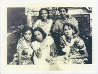 Group photograph of domestic workers