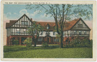 Postcard depicting the Rest for Convalescents, White Plains