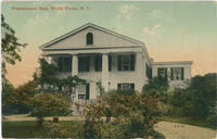 Postcard depicting the Presbyterian Rest, White Plains