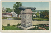 Postcard depciting the United Spanish War Veterans Monument, White Plains