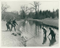 Fishing for Mortar Shells in the Bronx River