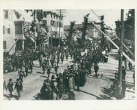Firemens' Parade on Railroad Avenue