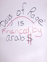 """Days of Rage"" is financed by Arab $"