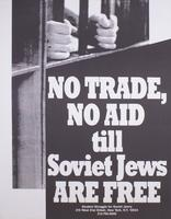 No trade, no aid till Soviet Jews are free