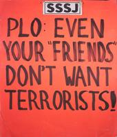 "PLO: even your ""friends"" don't want terrorists!"