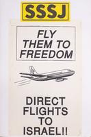 Fly them to freedom - direct flights to Israel!