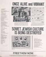 Once alive and vibrant, Soviet Jewish culture is being destroyed