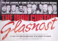 Glasnost - you are looking at some of the faces trapped behind the Iron Curtain