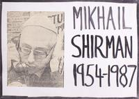 Mikhail Shirman 1954-1987