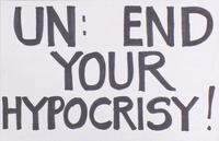 UN: end your hypocrisy!