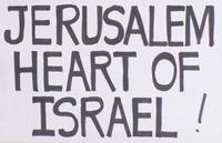 Jerusalem, heart of Israel!