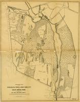 Preliminary plan of the Zoological Park for New York City in South Bronx Park