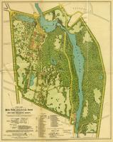 Final plan for the development of the New York Zoological Park as presented by the New York Zoological Society, in 1897