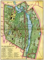 Map of the New York Zoological Park, as far as completed