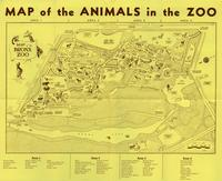Map of the animals in the Zoo