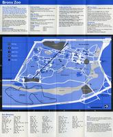 Bronx Zoo map/tour