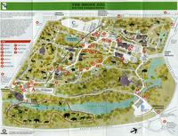 Map Of New York Bronx.Wcs Library Bronx Zoo Maps Digital Culture